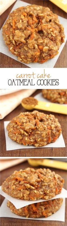 Carrot Cake Oatmeal Cookies | See The Pics