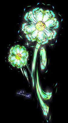 Iridescent Flower IV by *luisbc on deviantART