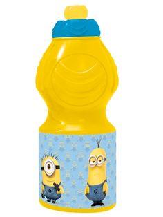 Hauska keltainen Minions-juomapullo saa juojansa suun hymyyn. Pullossa on kätevä vetonokallinen kierrekorkki, ja sen kyljessä komeilevat hulvattomat kätyrit. Pullon vetoisuus on 400 ml. Materiaali muovia. Tuote saapuu varastoomme heinäkuun lopussa.