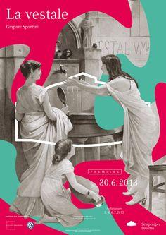 Fons Hickmann entwirft Plakatkampagne für die Semperoper Dresden. Die Serie von Postern, Flyern und Büchern für die Semperoper ist nun komplett und präsentiert. »Für die Plakatserie griffen wir auf historische Stiche und Malerei zurück, fragmentierten sie und fügten sie neu zusammen. Die Collage bot ein ideales Interaktionsfeld, wobei wir geschichtliches Material mit Farbflächen kombinieren. Es [...]