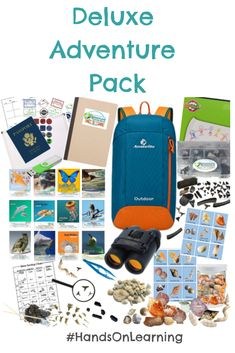 Deluxe Adventure Pack Interactive Unit Studies for adventure learning, exciting educational kits, and adventure gear to get kids excited about homeschool! Homeschool High School, Homeschool Curriculum, Homeschooling, Hands On Learning, Learning Tools, Ninja, Types Of Learners, Creative Teaching, Bible Lessons