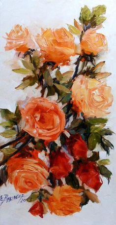 Parole parole  oil/canvas  size 30cmx60cm  signed Bissinger 2013 Canvas Size, Oil, Signs, Flowers, Painting, Shop Signs, Painting Art, Paintings, Royal Icing Flowers