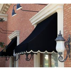 Cute awnings.