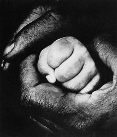 Jan Saudek, The Shelter, 1963 Black White Photos, Black And White Photography, Touch Of Gray, Foto Art, We Are The World, Hand Art, Great Photographers, Beautiful Hands, Human Body