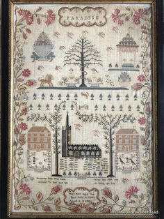 I've been collecting samplers for just over a year and half. The first sampler I purchased at an auction house, I mistakenly identified as German...