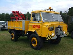 'Buttercup' Land Rover FC two tonne truck prototype - Dunsfold 2009