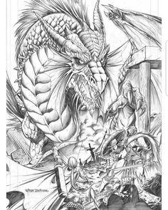 Dragon Dragonart Drawing Fantasy Art Fantasyart Fantasyartist