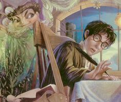 Detention with Professor Umbridge by Mary GrandPre - harry potter and the order of the phoenix illustrations mary grandpre 1169 shares source blog