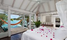 Most romantic of Antigua hotels and resorts-relaxing antigua vacations at Cocobay. A must visit!