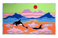 this is the ted harrison website . this is the ted harrison shop . Artists For Kids, Art For Kids, Cultural Crafts, Ted, Teaching Art, Teaching Resources, Arts Ed, Canadian Artists, Fish Art