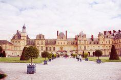 Château de Fontainebleau, France.