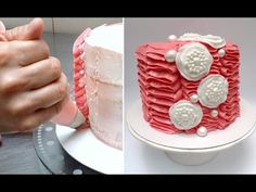 Buttercream Decorating Cake. Fast and Easy Technique #2 Tutorial by Cake...