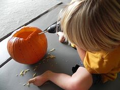 Play At Home Mom LLC: Power Tool to Pumpkin