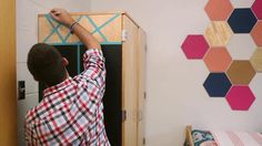 Crafter Tanner Bell and Marianne make three removable dorm room decor DIYs. From the experts at HGTV.com.