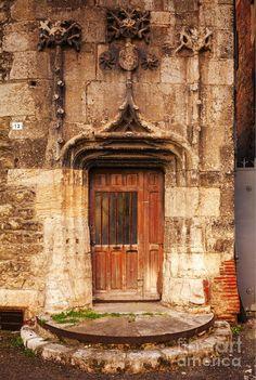 Old doorway Cahors France