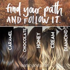 Every next level of your life will demand a different version of you. Be you. Find your path. Follow it! #haircolor #levels #findyourpassion #setyoursoulonfire #newyou