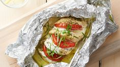 All your favorite Caprese flavors in these easy and delicious stuffed chicken breasts.