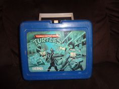 1989 Teenage Mutant Ninja Turtles Lunchbox (with No  thermos)