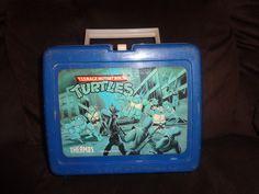 Teenage Mutant Ninja Turtles 1989 Lunchbox (with No  thermos)