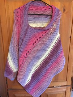 Ravelry: hawksgirlie's Wood Nymph Bluebell Poncho