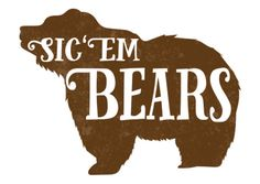 """Sic 'Em Bears"" notecards by JoyfulPixels on Etsy"