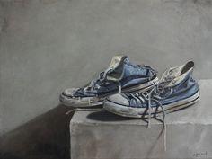 "Egmont Hartwig; Oil, 2012, Painting ""All Stars III"""