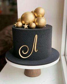 Birthday Cake Roses, Funny Birthday Cakes, Elegant Birthday Cakes, Pretty Birthday Cakes, Birthday Cakes For Men, Cake Decorating Icing, Cake Decorating Designs, Cake Decorating Videos, Birthday Cake Decorating