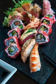 Deliciously fresh and creative sushi at Kamala at Conrad Cairo.