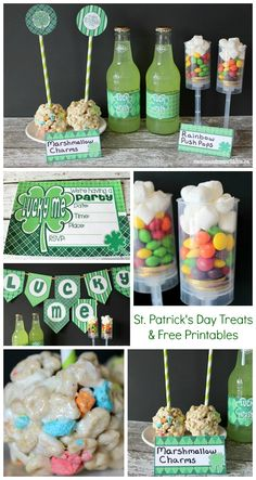 St. Patrick's Day Party For Kids with Free Printables