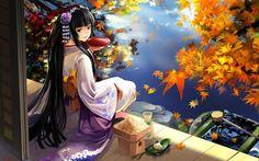 Japanese Cartoon Girl