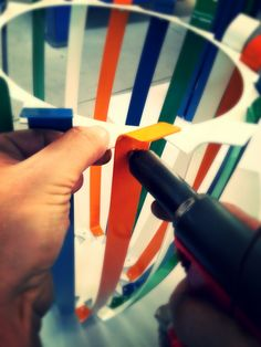 Man at work  we love # italian #handicraft  we love italian #industrial #design we love #Murano #Umbrella Stand