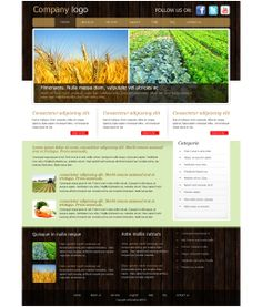Agriculture Templates prices Only 9.99$