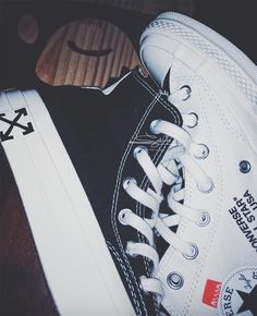 Off-White X Converse Chuck Taylor 70 Off White Converse, Converse Chuck Taylor White, Fashion Shoes, Mens Fashion, Custom Sneakers, Vans Sk8, Mens Clothing Styles, Chuck Taylors, Style Guides