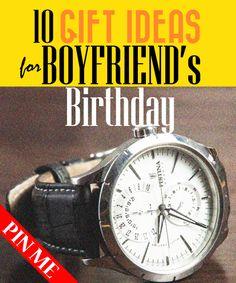 Birthday gifts for him | Birthday gifts for boyfriend. Read inside.