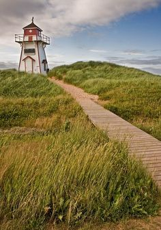 Covehead lighthouse in P.E.I. Nice Lighthouse.