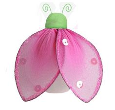 "Hanging Ladybug 4"" Small Green Pink Glitter Nylon Lady Bug Decorations - Decorate for a Baby Nursery Bedroom, Girls Room Ceiling Wall Decor, Wedding Birthday Party, Bridal Baby Shower, Bathroom. Ladybugs Decoration 3D Art Craft by Bugs-n-Blooms, http://www.amazon.com/dp/B003TTKJSW/ref=cm_sw_r_pi_dp_qHKgrb1TP1KXT"