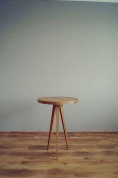 Stolik kawowy Just Oak (śr.60cm) w Pracownia EMBE na DaWanda.com