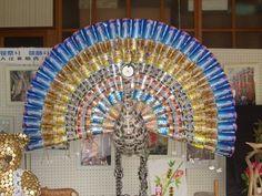 Вязание спицами и крючком: Поделки из пивных банок