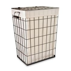 Buy Lamont Home Loren Metal Hamper from Bed Bath & Beyond