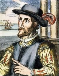 """Juan Ponce de Leon-(1472-1521) Spanish explorer and  conquistador. Led first European exposition to Florida...which he named. Guess he was looking for that famous """" Fountain of Youth""""  that most of us are? (-;"""