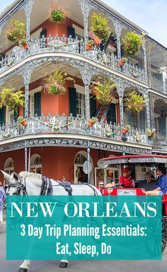 There is so much more to New Orleans than parties, booze, and beads. Check out this travel guide focused on couple's travel for 3 days in New Orleans