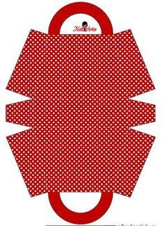 Polka Dots and Stripes: Free Printable Paper Purses