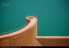 Yusuf Ibn Tashfin dam, on the Massa river, Morocco