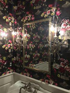 My clients amazing guest bathroom...so fabulous