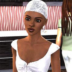 Lauryn Hill as a Sim
