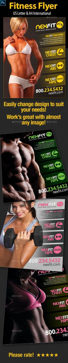 Fitness/Workout Flyer