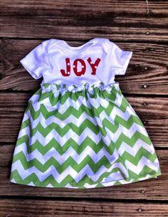 Awesome Christmas Dresses Christmas Chevron infant toddler dress by Madebyjoli on Etsy... Check more at http://24myshop.ga/fashion/christmas-dresses-christmas-chevron-infant-toddler-dress-by-madebyjoli-on-etsy/