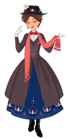 Mary+Poppins+by+musicmermaid.deviantart.com+on+@DeviantArt