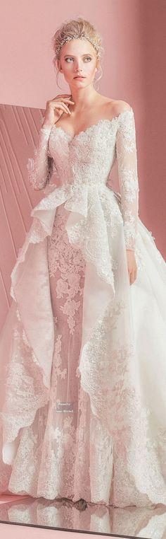Vestido de novia ♥️ Inspírate en bodatotal.com/ bodas-vestido de novia-wedding dress--wedding Zuhair Murad Bridal Spring-summer 2016