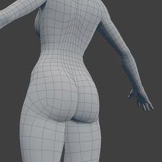 woman character base mesh rigged 3d model low-poly rigged obj fbx blend dae 5 3d Model Character, Character Base, Character Modeling, Face Topology, Maya Modeling, Polygon Modeling, 3ds Max Tutorials, 3d Human, Anatomy Models